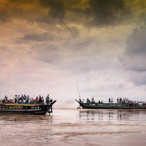 Adrift On The Brahmaputra
