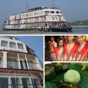 Brahmaputra River Cruise In Assam India
