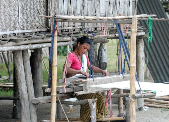 Destination Mishing Village Weaving Assam
