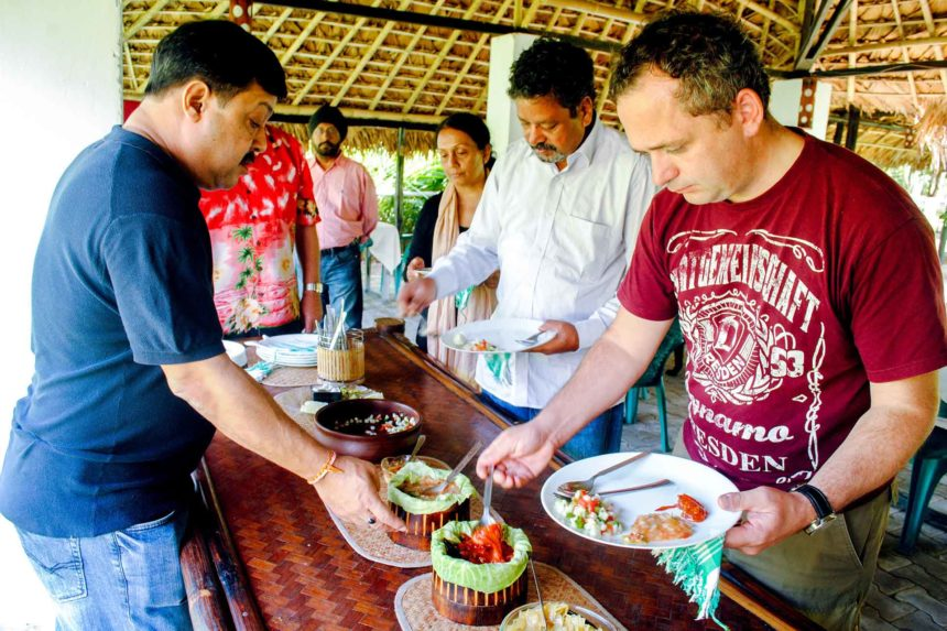 The Cuisine of Assam as Experienced on the MV Mahabaahu