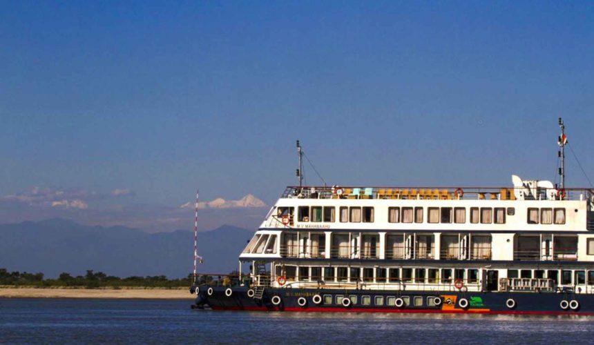 First-Ever Indo-Bangladesh Cruise Ship Starts Its Voyage On Brahmaputra