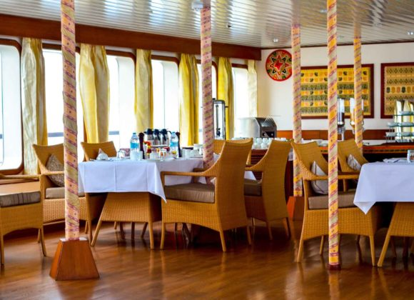 MV Mahabaahu Interior Restaurant