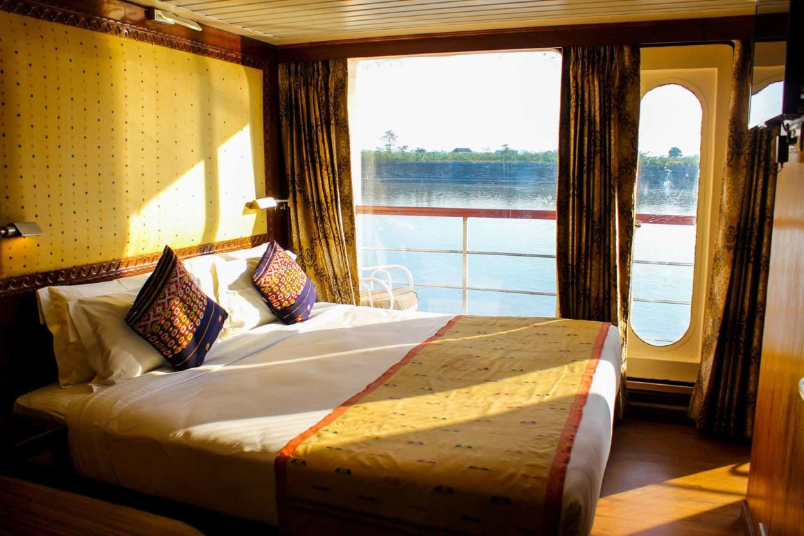 MV Mahabaahu Luxury with Balcony Cabin
