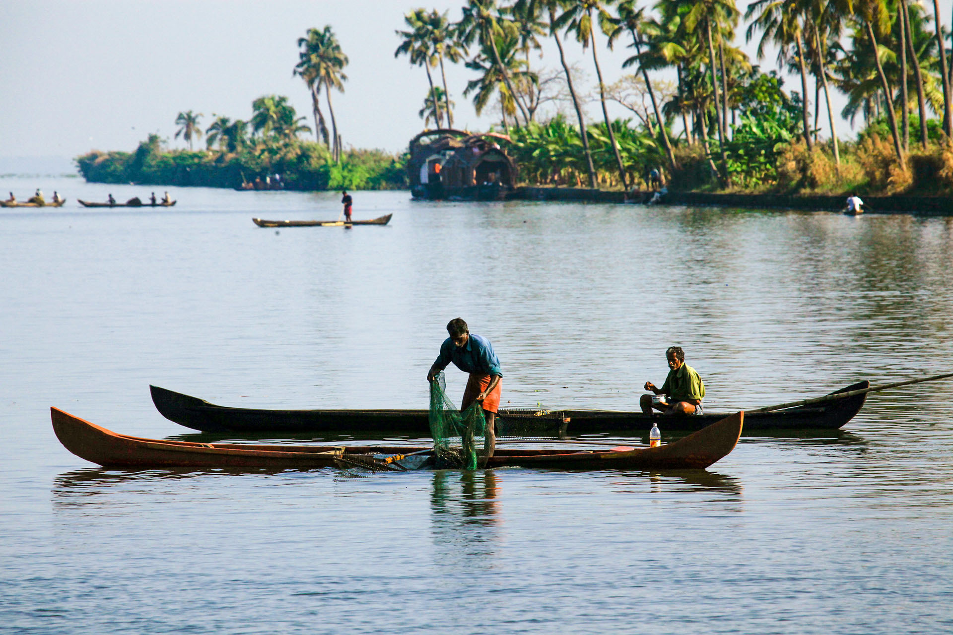Backwaters Alappuzha Kerala