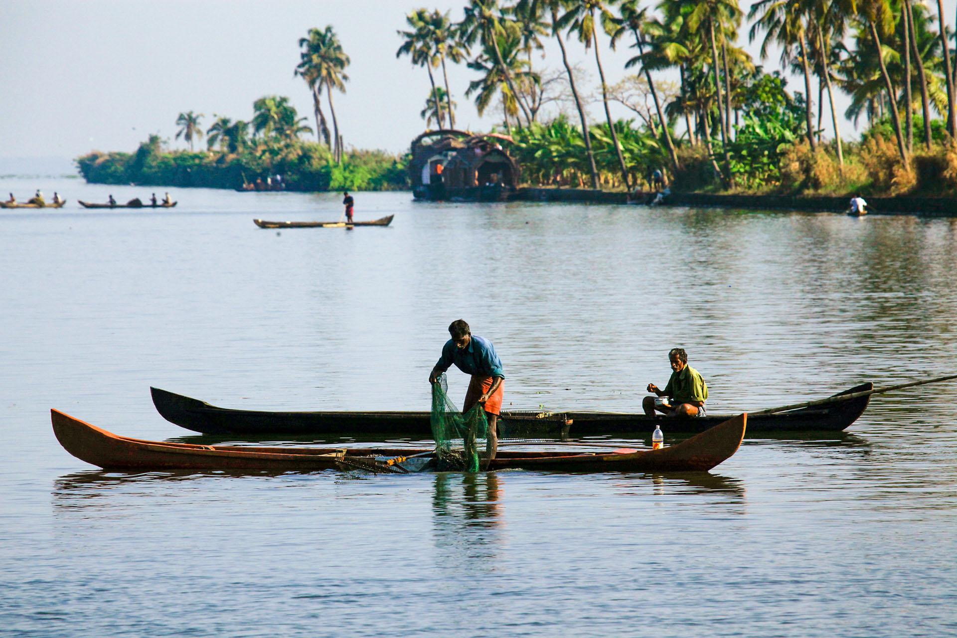 Backwaters Alappuzha Kerala