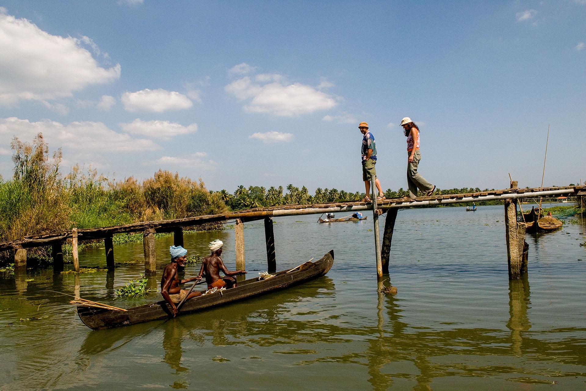 Backwaters Kumarakom Kerala