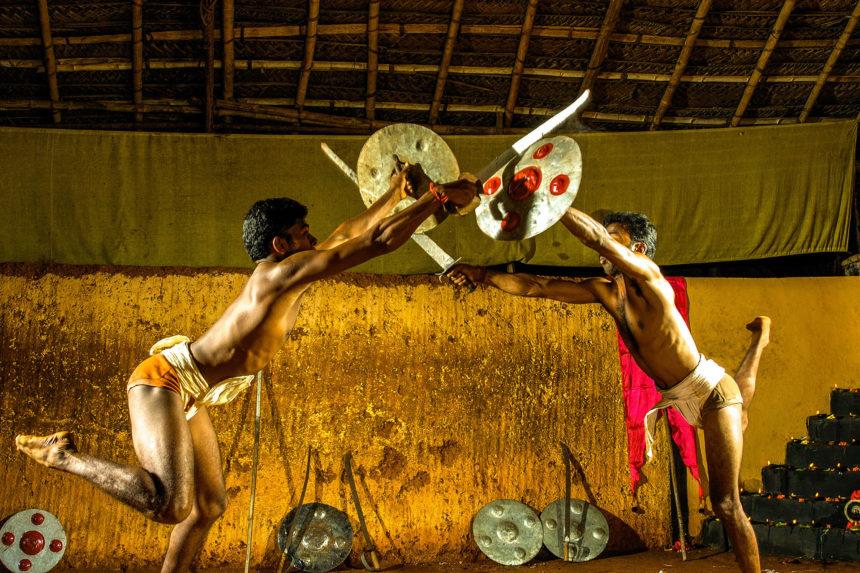 Kalaripayattu, A Traditional Martial Arts Performance