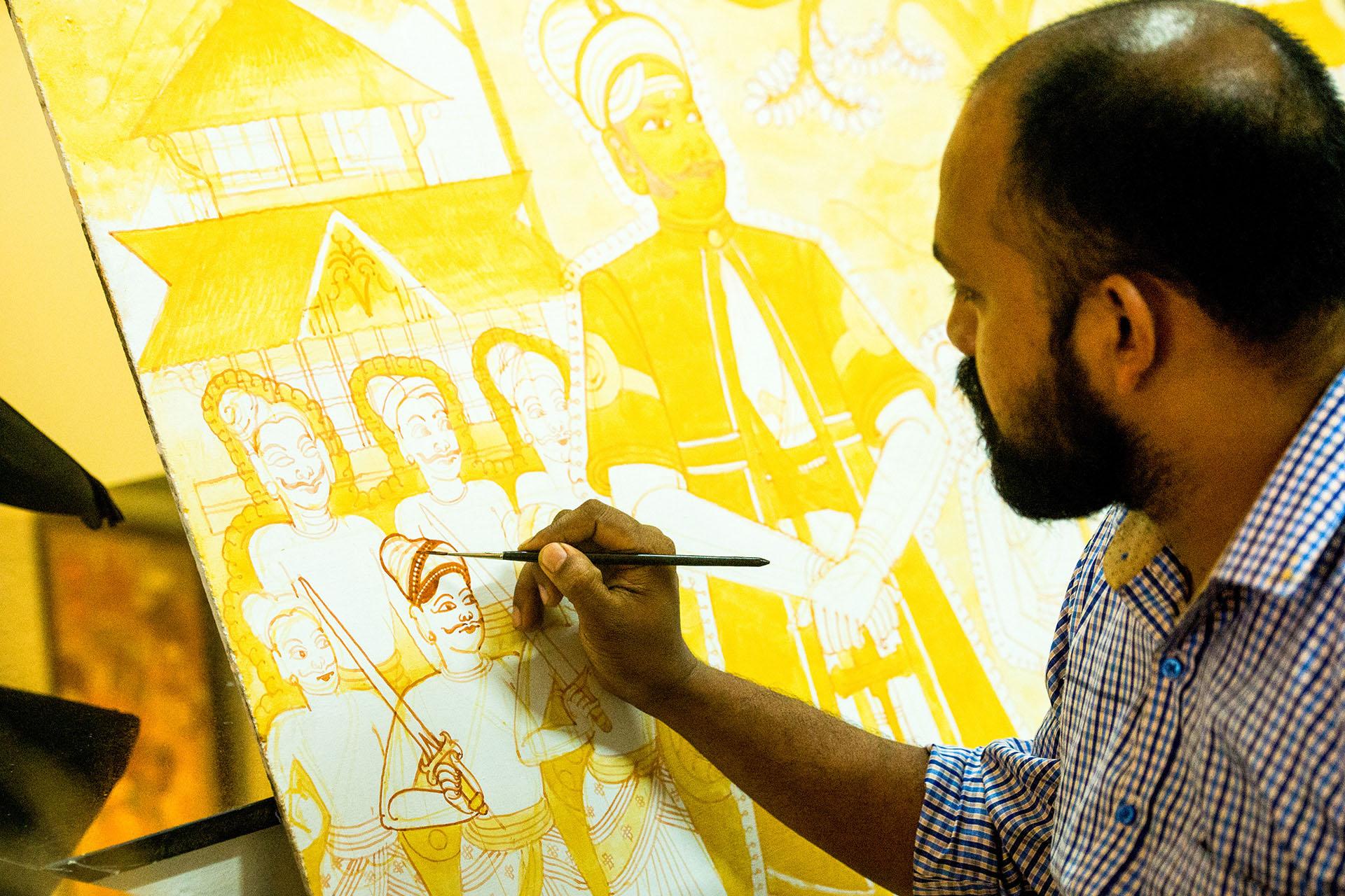 Mural Art, Aranmula Kerala