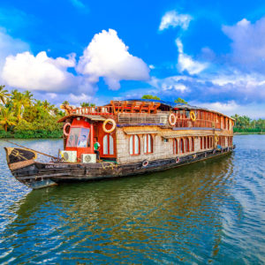 Cruise For Seven Nights On The Kerala Backwaters In Southern India