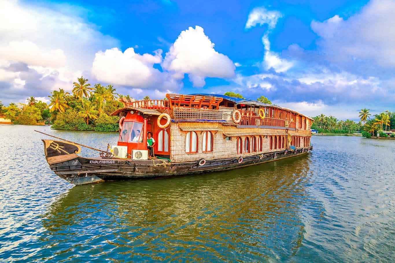 RV Vaikundam Backwater River Cruise
