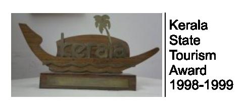 Kerala State Tourism Award 1998-1999